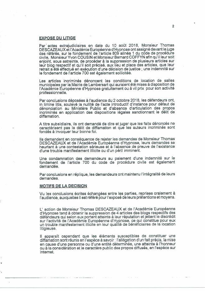 2018-11-06 Ordonnance de référé Affaire AEH (2)