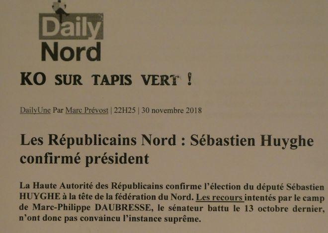 2018-11-30 Daubresse KO sur le tapis vert