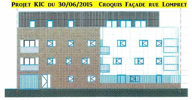 2015-06-30 Croquis Façade Lompret projet KIC
