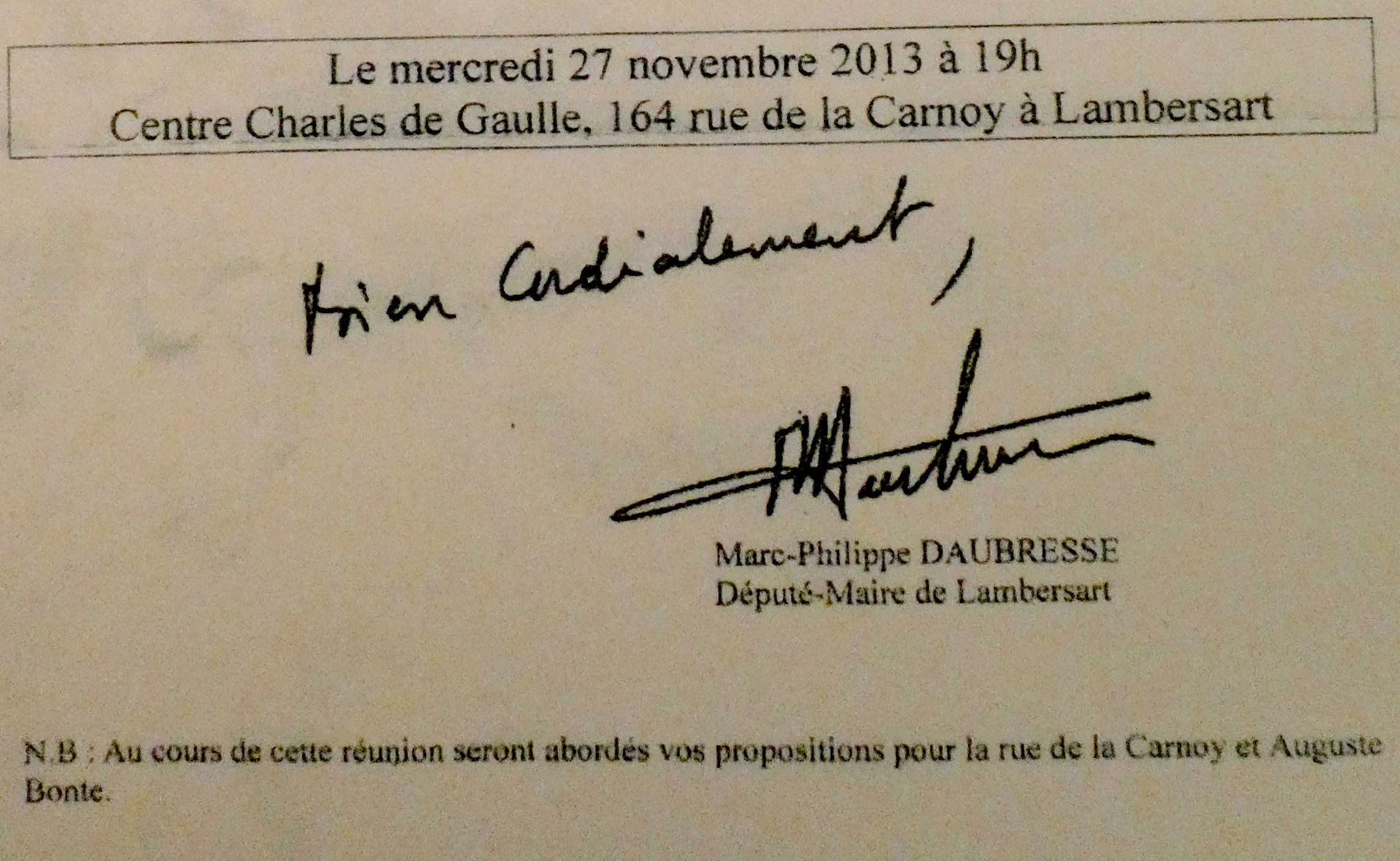 2019-11-27 Carnoy, Bonte au Centre De Gaulle